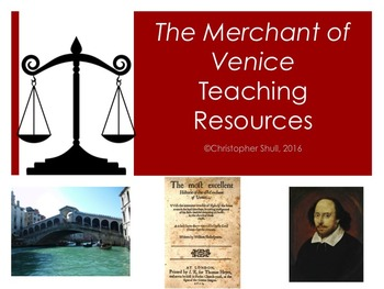 The Merchant of Venice Teaching Resources