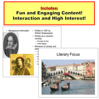 The Merchant of Venice Ultimate Introduction PowerPoint