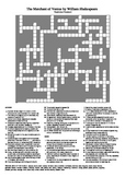 The Merchant of Venice - Vocabulary Crossword Puzzle