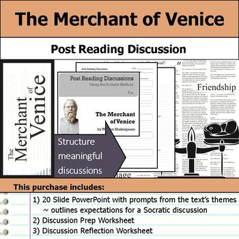 The Merchant of Venice by William Shakespeare - Socratic Method Discussions