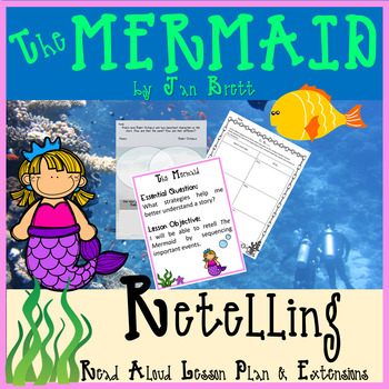 The Mermaid by Jan Brett Interactive Read Aloud Lesson Plan