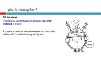 The Metacognitive Student - Lesson 2 - Study Skills