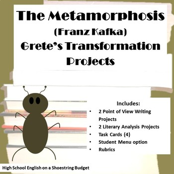 The Metamorphosis Grete's Transformation Activities (Franz Kafka)
