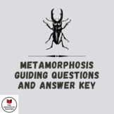 The Metamorphosis Guiding Questions and Answer Key