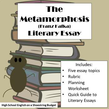 the metamorphosis literary essay franz kafka by msdickson tpt the metamorphosis literary essay franz kafka