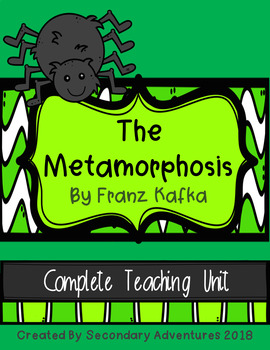 The Metamorphosis Novel Study