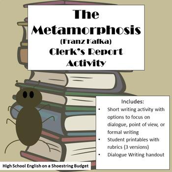 The Metamorphosis The Clerk's Report on Gregor Dialogue Ac