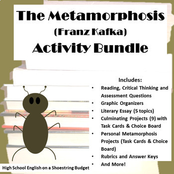 the metamorphosis activity bundle franz kafka pdf by msdickson the metamorphosis activity bundle franz kafka pdf