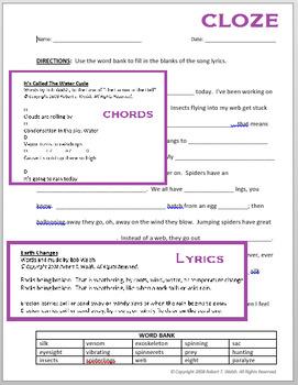 The Meteorology Song (Music, Lyrics, Chords, Cloze)