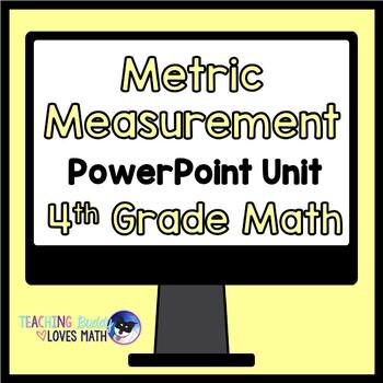 Metric Measurement Math Unit 4th Grade Common Core