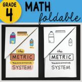 Math Doodle - The Metric Measurement System ~ INB Foldable
