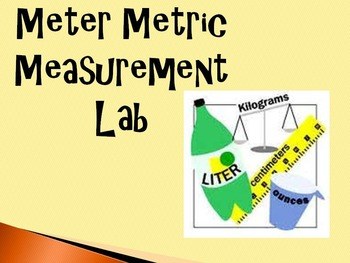 The Metric System Basics Power Point for the Science Classroom