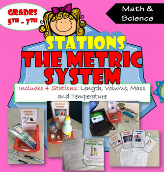 The Metric System Stations Activity