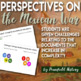 The Mexican War Analyzing Perspectives for and against the