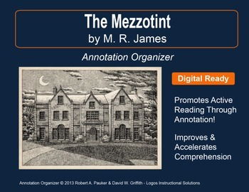"""The Mezzotint"" by M.R. James: Annotation Organizer"