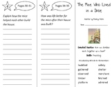 The Mice Who Lived in a Shoe Trifold - Open Court 2nd Grade Unit 1 Lesson 1