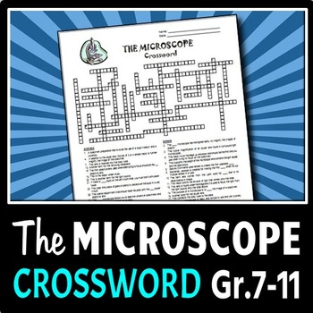 The Microscope - Crossword {Editable}