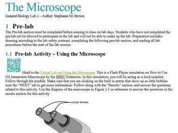 The Microscope (Lab)