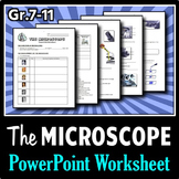 The Microscope - PowerPoint Worksheet {Editable}