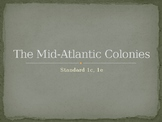 The Mid-Atlantic Colonies