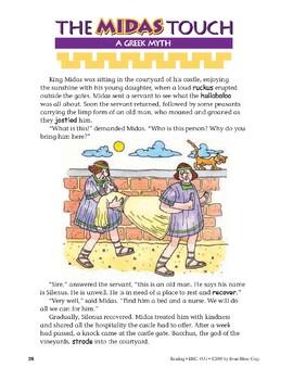 The Midas Touch: A Greek Myth