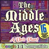 Middle Ages Unit | 16 Lessons for Middle Ages & Medieval Era | Distance Learning