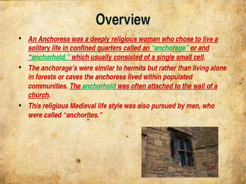 The Middle Ages - The Anchoress