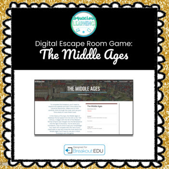 The Middle Ages Digital Escape Room / Breakout Game