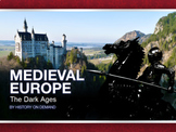Medieval Europe: The Dark Ages - PowerPoint and Outline