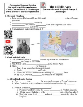 The Middle Ages Germanic Kingdoms Guided Lecture Notes
