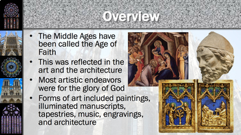 The Middle Ages: Gothic Art and Architecture