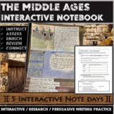 The Middle Ages Interactive Notebook