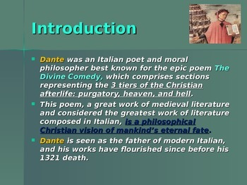 The Middle Ages - Key Figures - Dante
