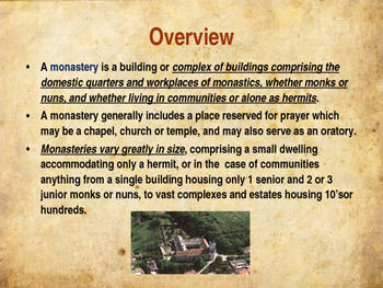 The Middle Ages - Life in a Medieval Monastary