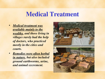 The Middle Ages - Medical Treatment