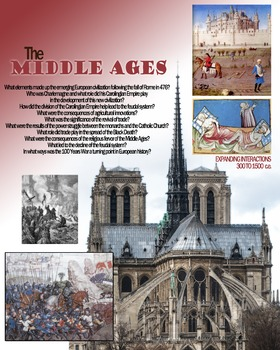 Medieval Europe Poster