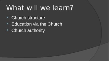 The Middle Ages Power of the Church PowerPoint Lecture