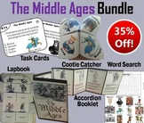 The Middle Ages Task Cards and Activities Bundle