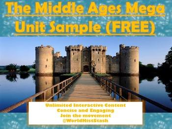 The Middle Ages: Teacher's Mega Unit/Handouts +MEGA PPT (F