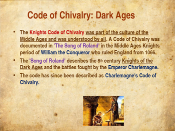 medieval code of chivalry