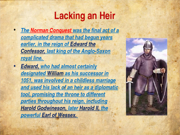 The Middle Ages - The Norman Conquest