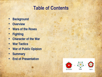the war of the roses summary