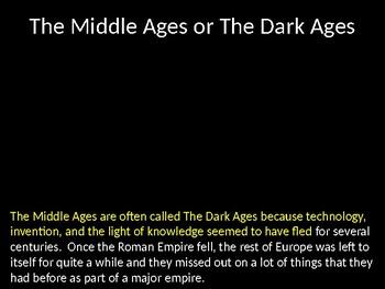 The Middle Ages Unit