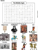 The Middle Ages Word Search