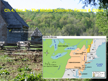 The Middle Colonies: Farms & Cities