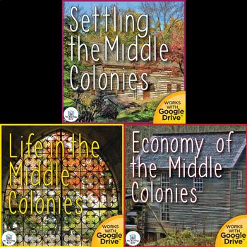 The Middle Colonies US History Unit Bundle