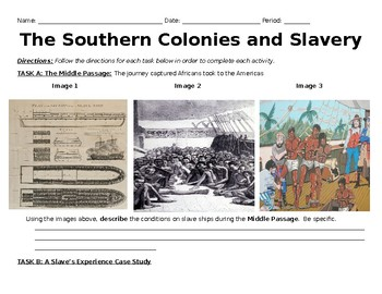 The Middle Passage and Slavery