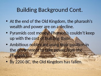 The Middle and New Kingdoms of Egypt Powerpoint