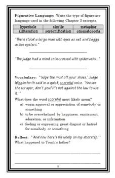 The Midnight Horse (Sid Fleischman) Novel Study / Reading Comprehension Unit