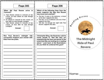 The Midnight Ride of Paul Revere - 5th Grade Reading Street